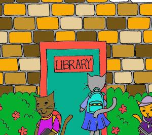 CatsintheLibrary